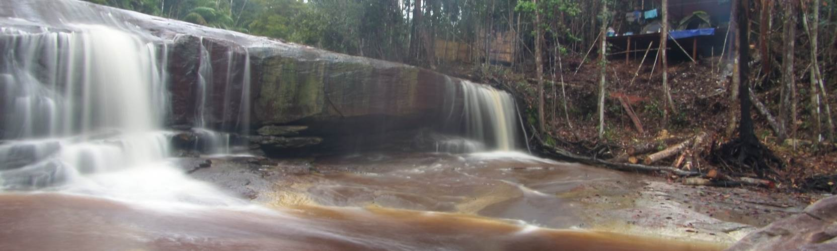 Adventure Alternative Borneo Radak Jungle Waterfall