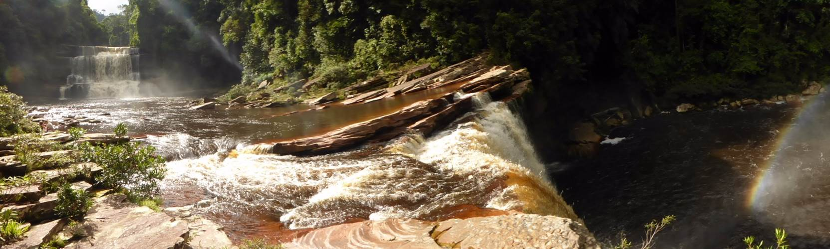 Adventure Alternative Borneo Sabah Maliau Basin Waterfall