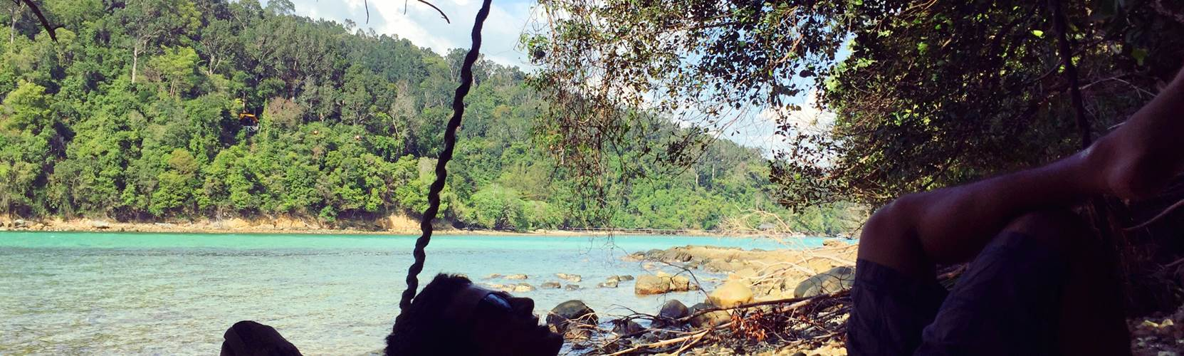 Adventure Alternative Borneo Sapi Island Swing